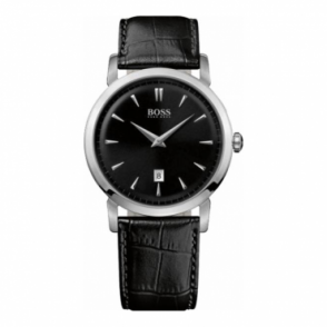 Hugo Boss Mens Black Strap Watch 1512637