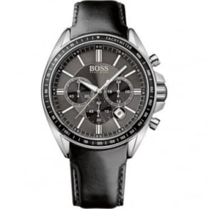 Hugo Boss Mens Leather Strapped Chronograph Watch 1513085