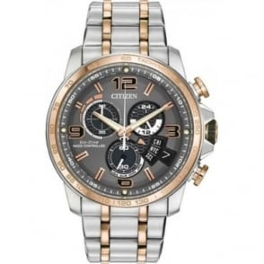Citizen Mens Chrono Time A-T Watch BY0106-55H
