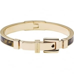 Michael Kors Jewellery Tortoise Gold Buckle Bangle