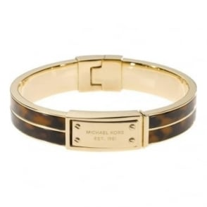 Michael Kors Jewellery MK Logo Plaque Bangle