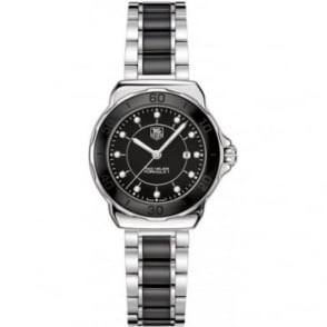 Tag Heuer Ladies Steel and Ceramic Formula 1 Watch WAH1314.BA0867