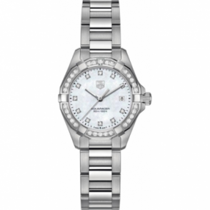 Tag Heuer Ladies Diamond Set Aquaracer Watch WAY1414.BA0920`
