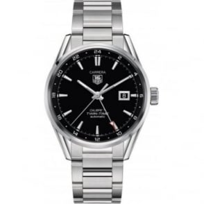 Tag Heuer Carrera Calibre 7 Twin Time Watch WAR201B.BA0723
