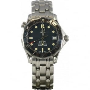 Pre-Owned Omega Mens Seamaster Blue Dial