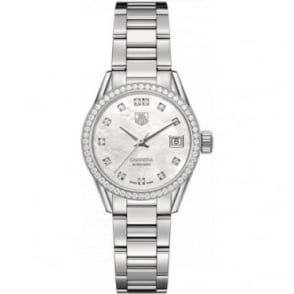 Tag Heuer Ladies Carrera Diamond Set - WAR2415.BA0770