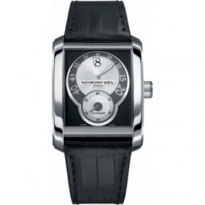 Raymond Weil Large Gents Stainless Steel Automatic Watch with Don Giovani Jumping Hour
