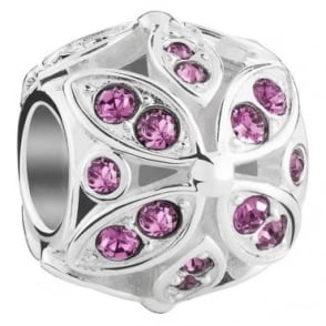 Chamilia Floral Color Accents - Amethyst - 2025-1564