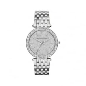 Michael Kors Ladies Silver Darci Watch MK3437