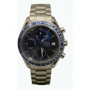 Pre-Owned Omega Men's Stainless Steel Speedmaster