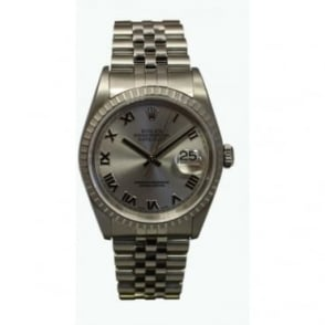 Pre-Owned Rolex Men's Stainless Steel Datejust