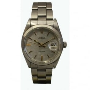 Pre-Owned Rolex Men's Stainless Steel Oysterdate Precision