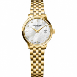 Raymond Weil Ladies Toccata Gold Plated Watch 5988-P-97081