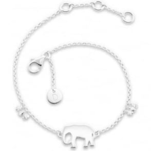 Daisy London Silver Good Karma Elephant