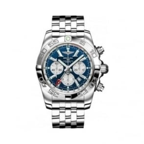 Breitling Gents Chronomat GMT Stainless Steel Watch - AB041012-C834
