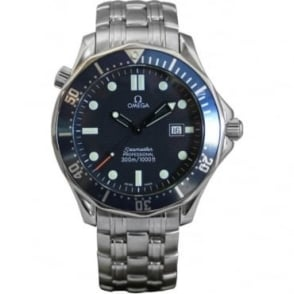 Pre-Owned Omega Men's Stainless Steel Seamaster
