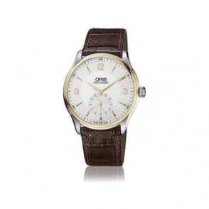 Oris Mens Artelier Small Second Watch - 01 396 7580 4351-07 5 21 05
