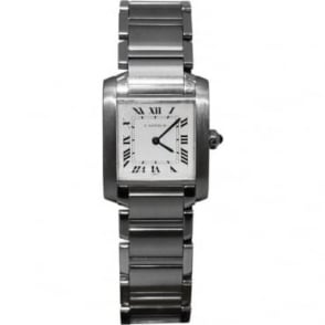 Pre-Owned Cartier Ladies Stainless Steel Tank Francaise Watch