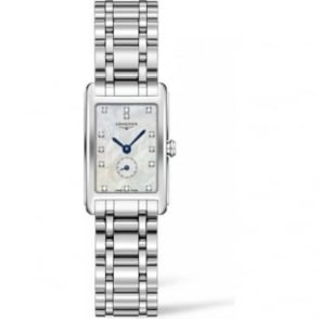 Longines Ladies Stainless Steel DolceVita Diamond Indexes