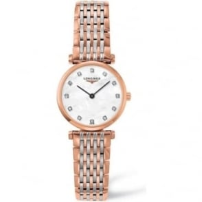 Longines Ladies Two Tone La Grande Classique, Diamond Indexes