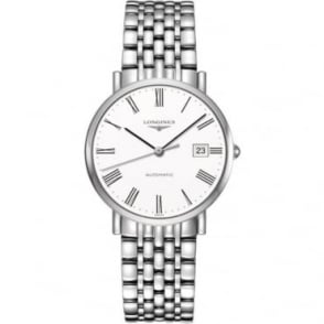 Longines Mens Stainless Steel Elegant Collection