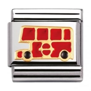 Nomination Classic Gold London Bus Charm - 03021019