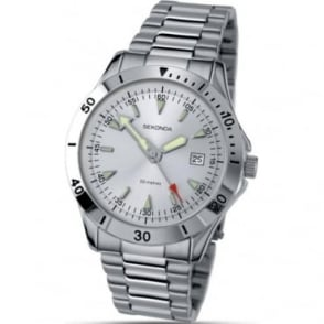 Sekonda Gents Steel Sports Watch