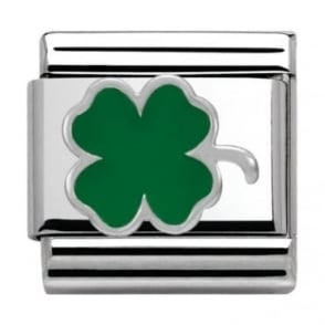Nomination Classic Silver Daily Life Four-Leaf-Clover