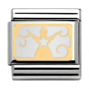 Nomination Classic Gold Angel Charm