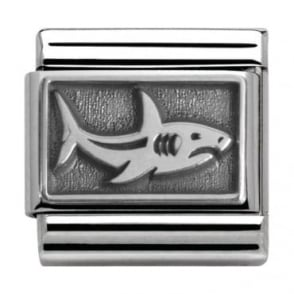 Nomination Classic Silver Summertime Shark