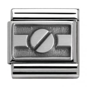 Nomination Classic Silver Summertime Screw Charm