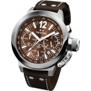 TW Steel EX-DISPLAY Gents Stainless Steel Chronograph Watch