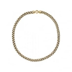 Michael Kors Jewellery LADIES' PVD GOLD PLATED PARK AVENUE NECKLACE