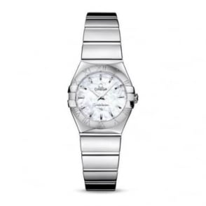 Omega Ladies Constellation Polished Watch 123.10.24.60.05.002