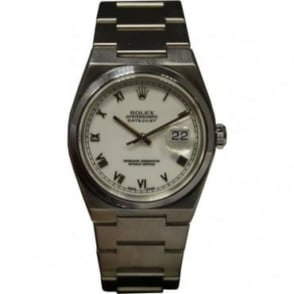 Pre-Owned Rolex Men's Stainless Steel Oyster Quartz