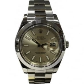 Pre-Owned Rolex Men's Stainless Steel DateJust II