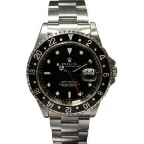 Pre-Owned Rolex Men's Stainless Steel GMT-Master