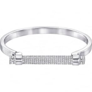 Swarovski Silver Friend Bangle