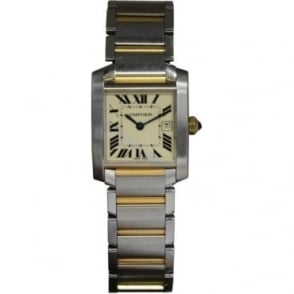 Pre-Owned Cartier Ladies Bi-Metal Tank Francaise Watch