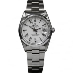 Pre-Owned Rolex Men's Stainless Steel Oyster Perpetual Date