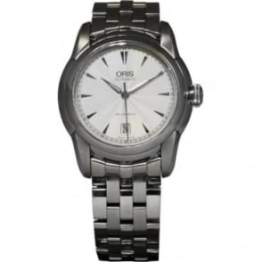 Pre-Owned Oris Men's Stainless Steel Artelier Watch