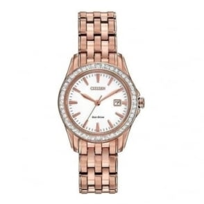 Citizen Ladies Silhouette Crystal Watch - EW1903-52A