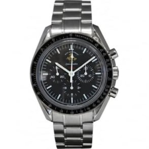 Pre-Owned Omega Men's Stainless Steel 50th Anniversary Speedmaster Watch