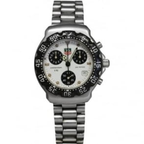 Pre-Owned Tag Heuer Men's Stainless Steel Formula 1 Chronograph Watch