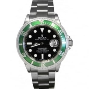 Pre-Owned Rolex Men's Stainless Steel 50th Anniversary Submariner Watch