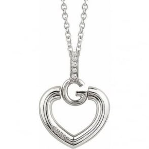 Guess Jewellery Giselle Heart Necklace