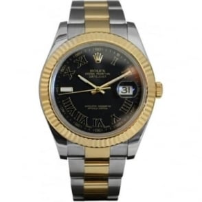 Pre-Owned Rolex Men's Bi-Metal DateJust II . 116333