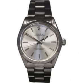 Pre-Owned Rolex Men's Stainless Steel Oyster Perpetual Watch. 1002