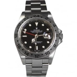 Pre-Owned Rolex Men's Stainless Steel Explorer II Watch. 16570