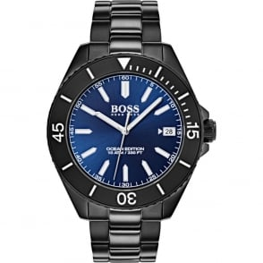 881cf6688 BOSS Watches Men's Black PVD Stainless Steel Talent Watch. 1513590 ...